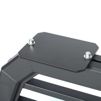 A six by eight inch light bracket on a Magnum Truck Rack