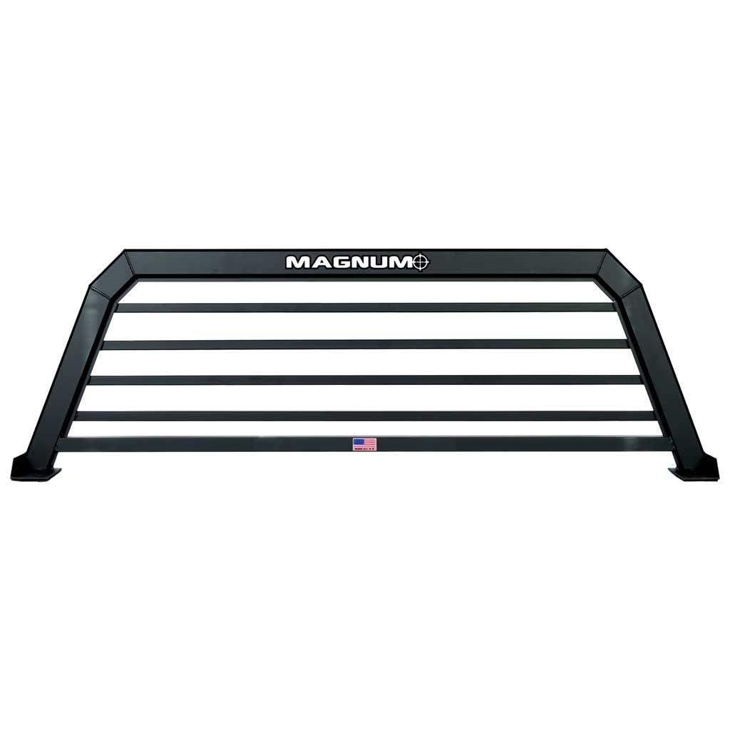 A black truck rack
