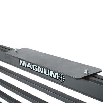 A 24 inch long Light Bracket on a truck rack