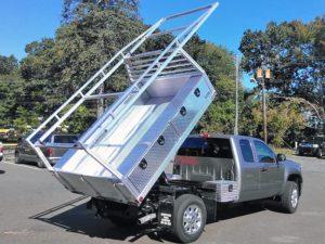 dump body truck bed
