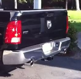 pickup truck exhaust