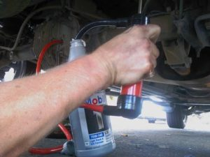 changing rear end oil