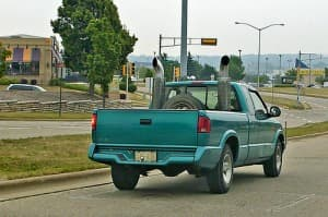 pickup exhaust tips