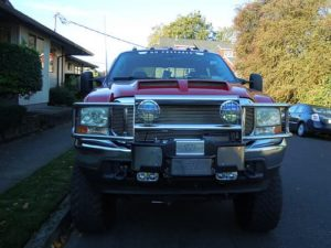 pickup truck winch