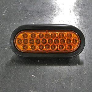 LED Oval Amber Strobe Light