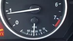mpg gauge