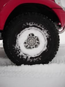 pickup snow tire