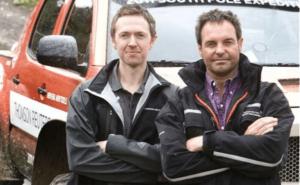 Polar truck designer Ian Nisbett and Jason De Carteret