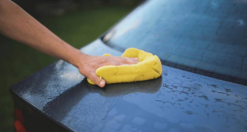 buff your pickup truck - Washing vehicle