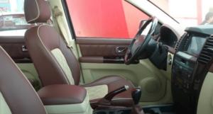 Inside of a Kawei Auto K1 Pickup