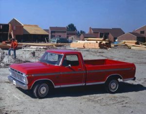 A 1975 Ford F-150 Truck