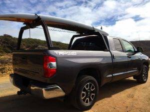 2014 Toyota Tundra Truck Rack With Surfboard