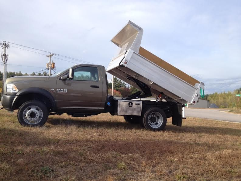 Increase Business Efficiency With An Aluminum Dump Body