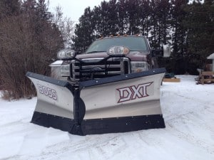 Snow Plow V Blade