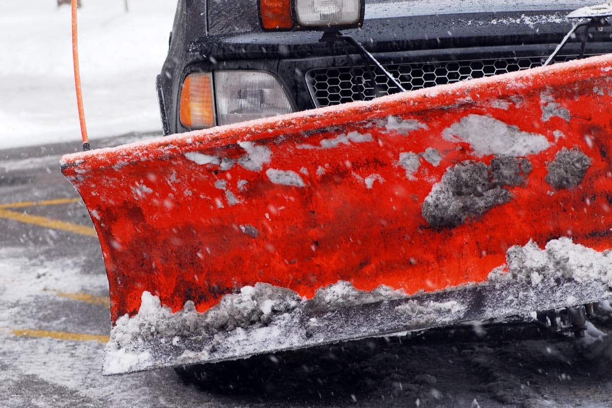 Maintaining Your Snow Plow - Plow Truck Plow Blade
