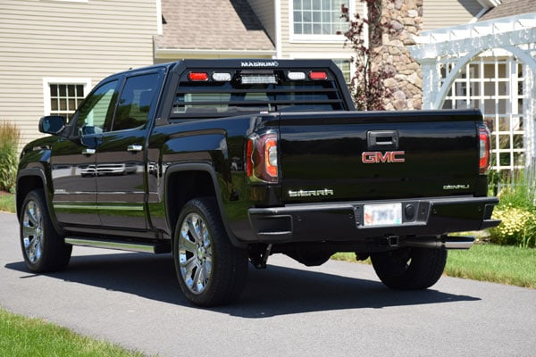 Truck Rack With Lights Low Pro Free Shipping Usa Made