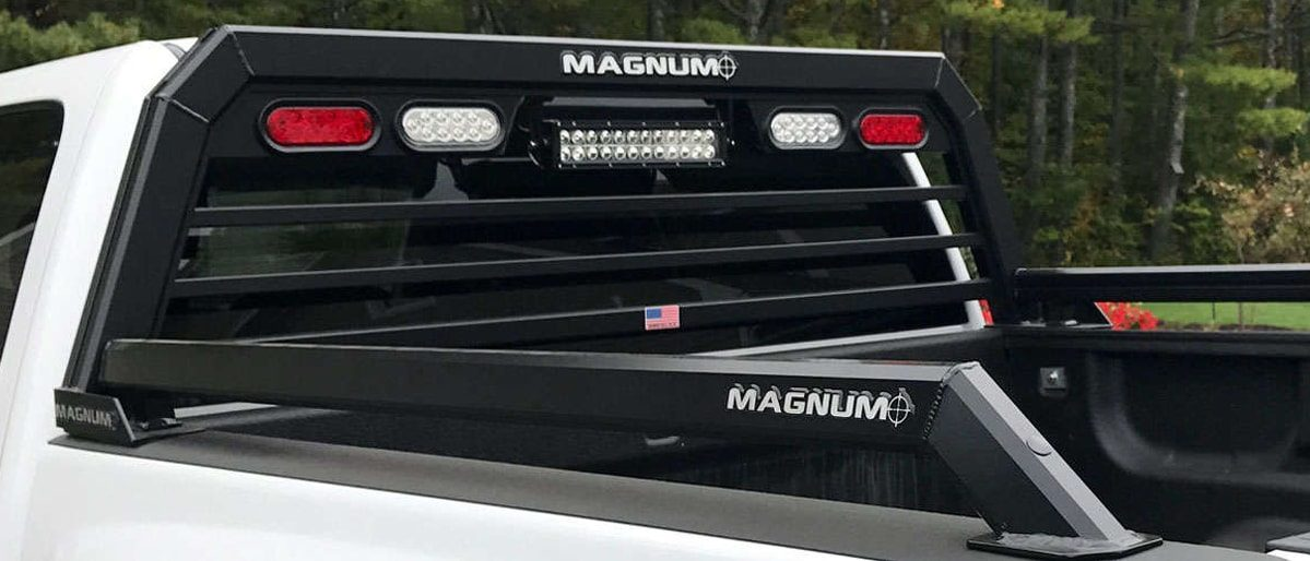 Magnum rack with bed rails