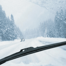 Better Winter Driving- Inspect winter wiper blades