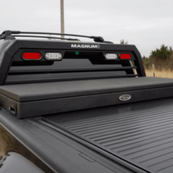 Low Pro Magnum Rack with tonneau cover