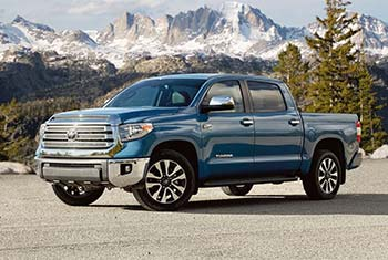 toyota tundra light-duty truck comparison