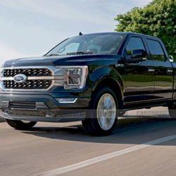 ford f150 light-duty truck comparison