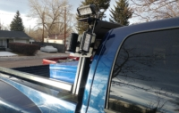 2008 Dodge Ram 3500 with High Pro Rack, Bed Rails and Lights