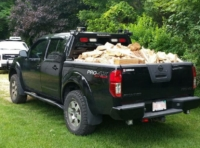 2010 Nissan Frontier with Low Pro Rack