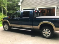 2014 Ford F-350 with Magnum Low Pro Rack