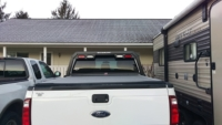 2015 Ford F250 Low Pro Hollow Point Rack with Lights
