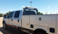 2015 Ford F250 Service Body Truck Rack