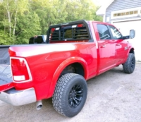 2017 Dodge Ram 2500 Low Pro Rack