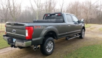 2017 Ford F350 with Low Pro Rack