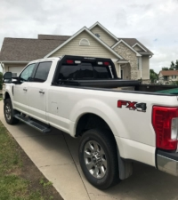 2017 Ford F350 with Low-Pro Magnum Rack