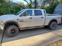 2018 Ram 2500 Low Pro Rack with Bed Rails