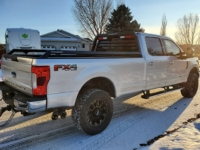 2019 F350 Lariat with Low Pro Rack and Bed Rails