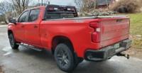2019 Silverado 1500 Custom TrailBoss Low-Pro Rack with lights