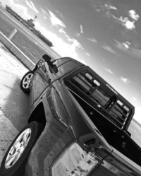 Aluminum headache rack on 2017 Chevy Silverado 1500