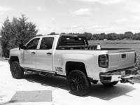 Aluminum headache rack on 2016 Chevy Silverado 2500